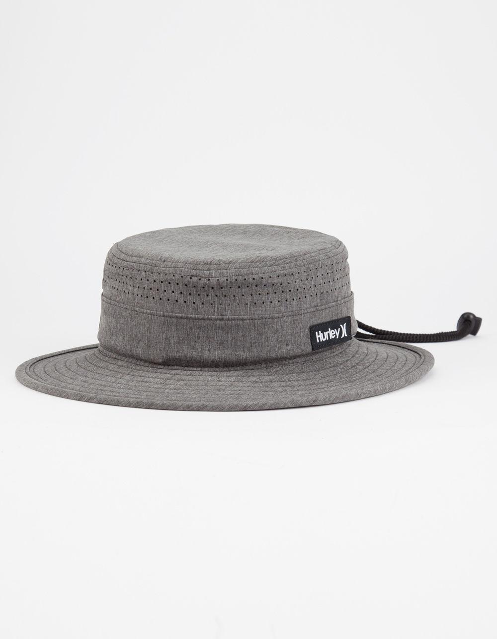 ... new arrivals lyst hurley surfari bucket hat in black for men e7efe ebfb2 3a8d3b0975f8