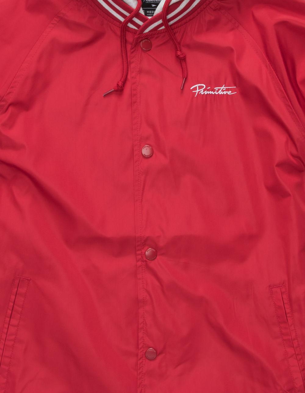 17eecdbcd Primitive 2-fer Mens Hooded Jacket in Red for Men - Lyst