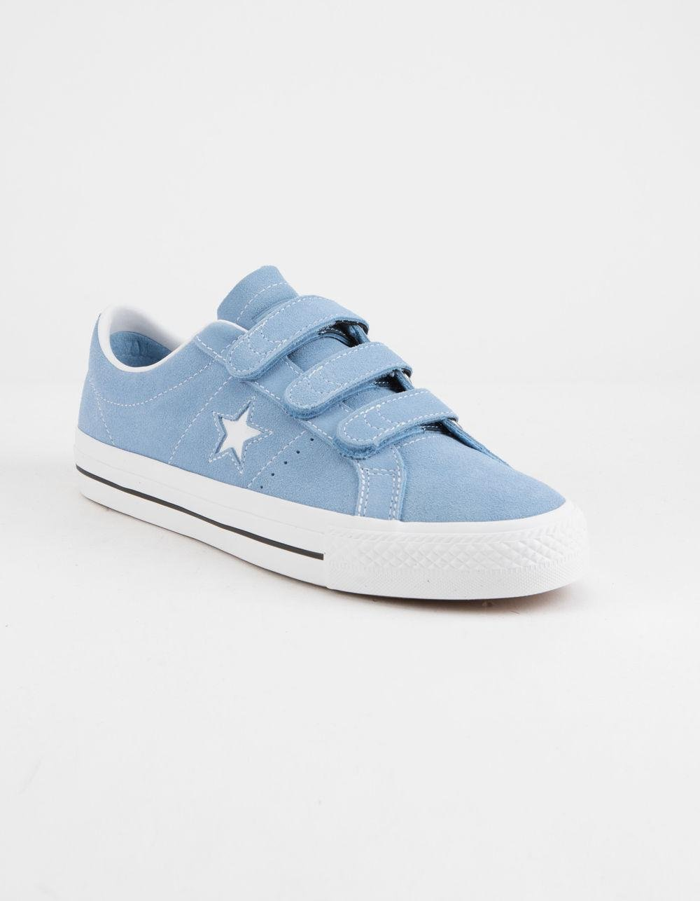 95e2ba552268 Lyst - Converse One Star Pro 3v Ox Light Blue   White Shoes in Blue for Men