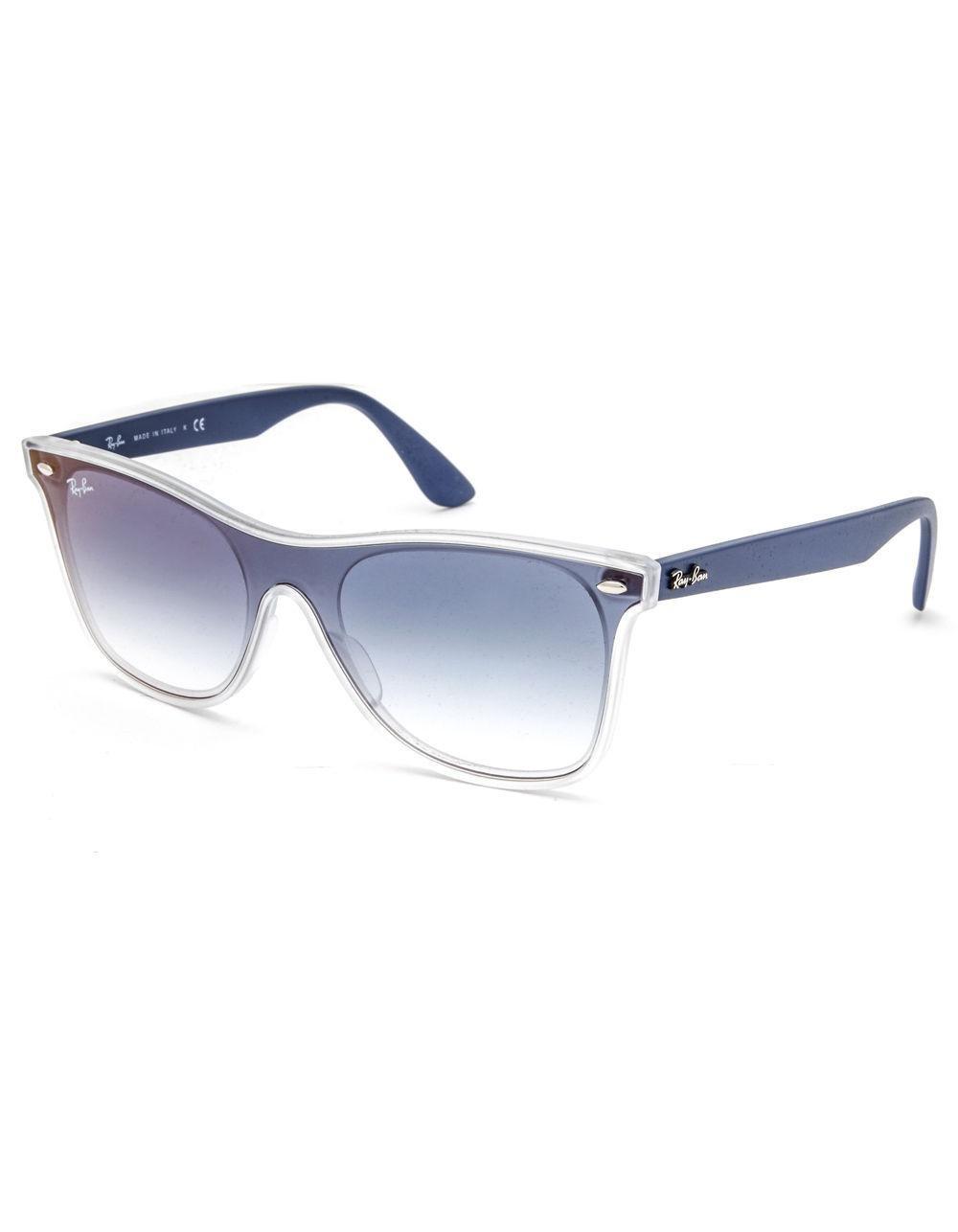 64ffa499c4 Lyst - Ray-Ban Blaze Wayfarer Blue Sunglasses in Blue