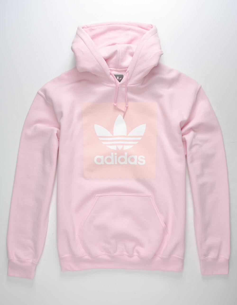 6147074a3f74 Lyst - adidas Tonal Blackbird Mens Hoodie in Pink for Men