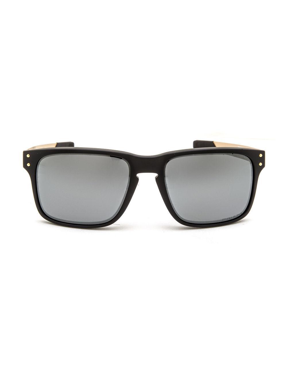 2dbfafe3a1635 Oakley Holbrook Mix Matte Black   Prizm Black Polarized Sunglasses in Black  for Men - Lyst