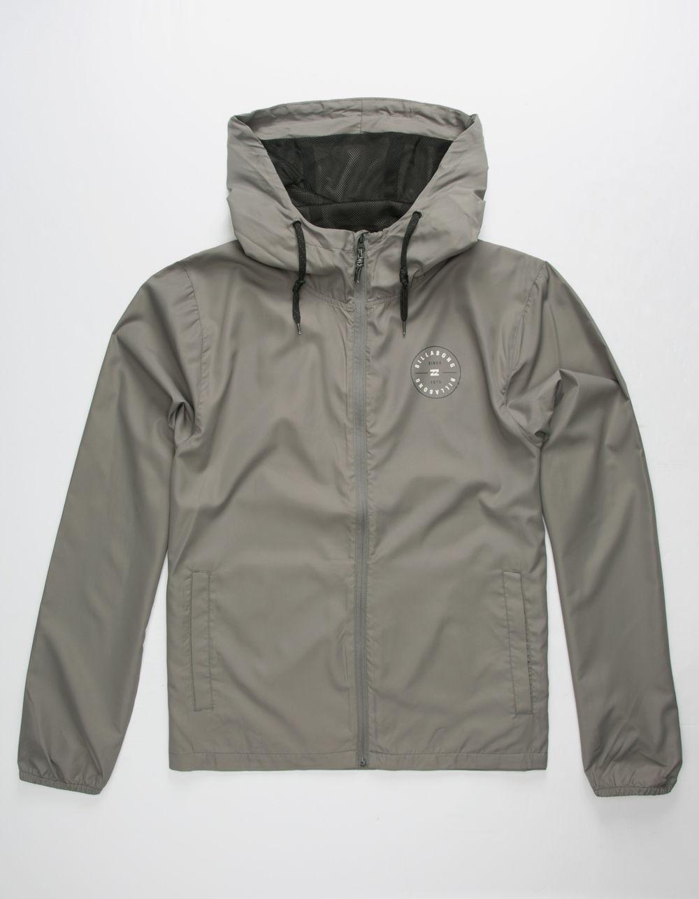 b0b18aa6d Lyst - Billabong Slicker Mens Windbreaker Jacket in Gray for Men