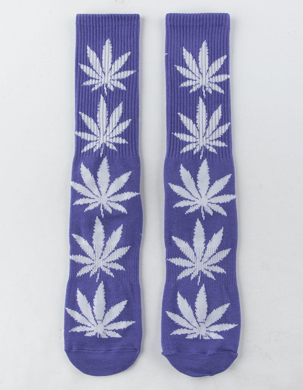 42767bdce17 Lyst - Huf Plantlife Purple Mens Crew Socks in Purple for Men