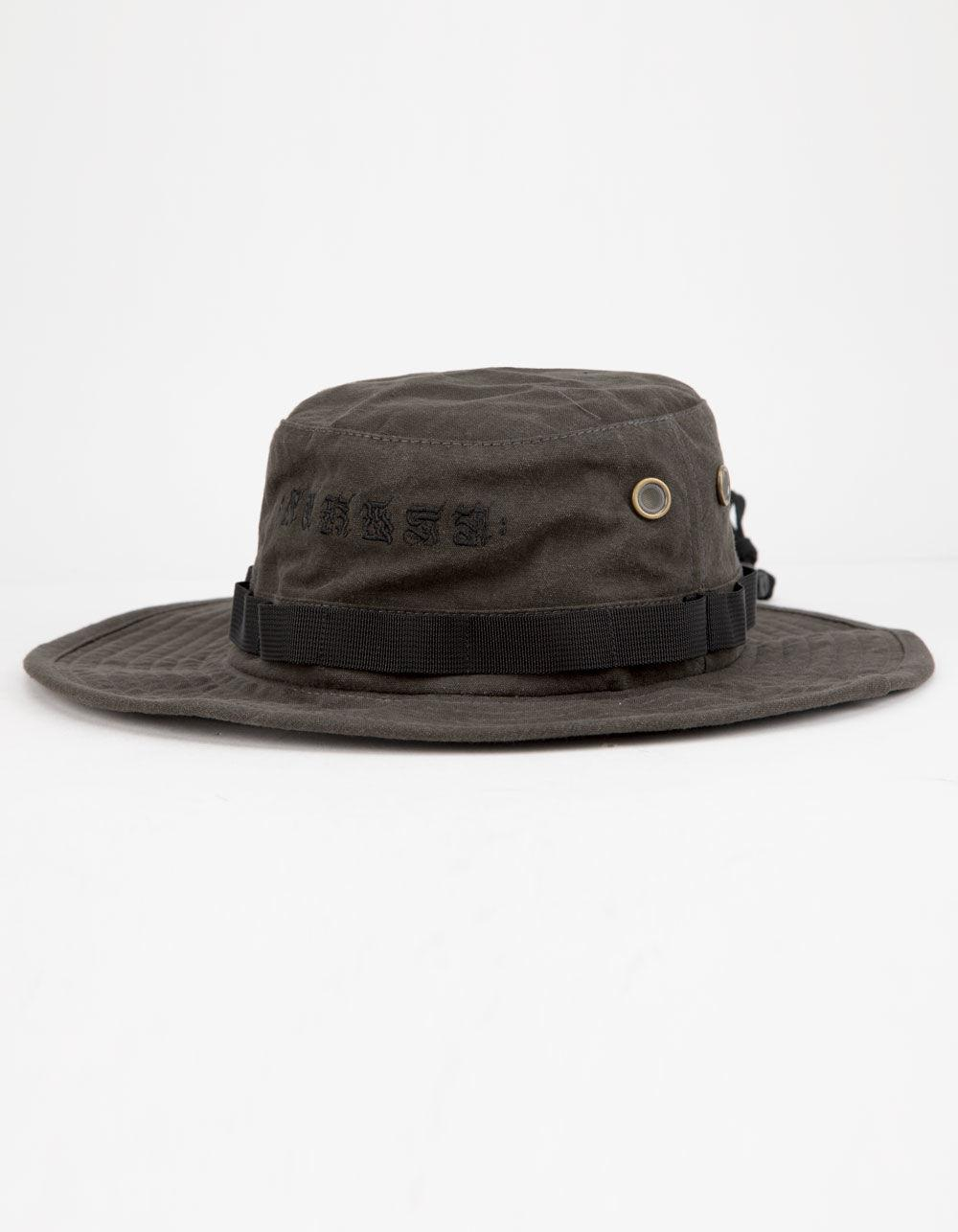 1e7afa339ce Nike - Black Hurley Cryptik Mana Boonie Hat for Men - Lyst. View fullscreen