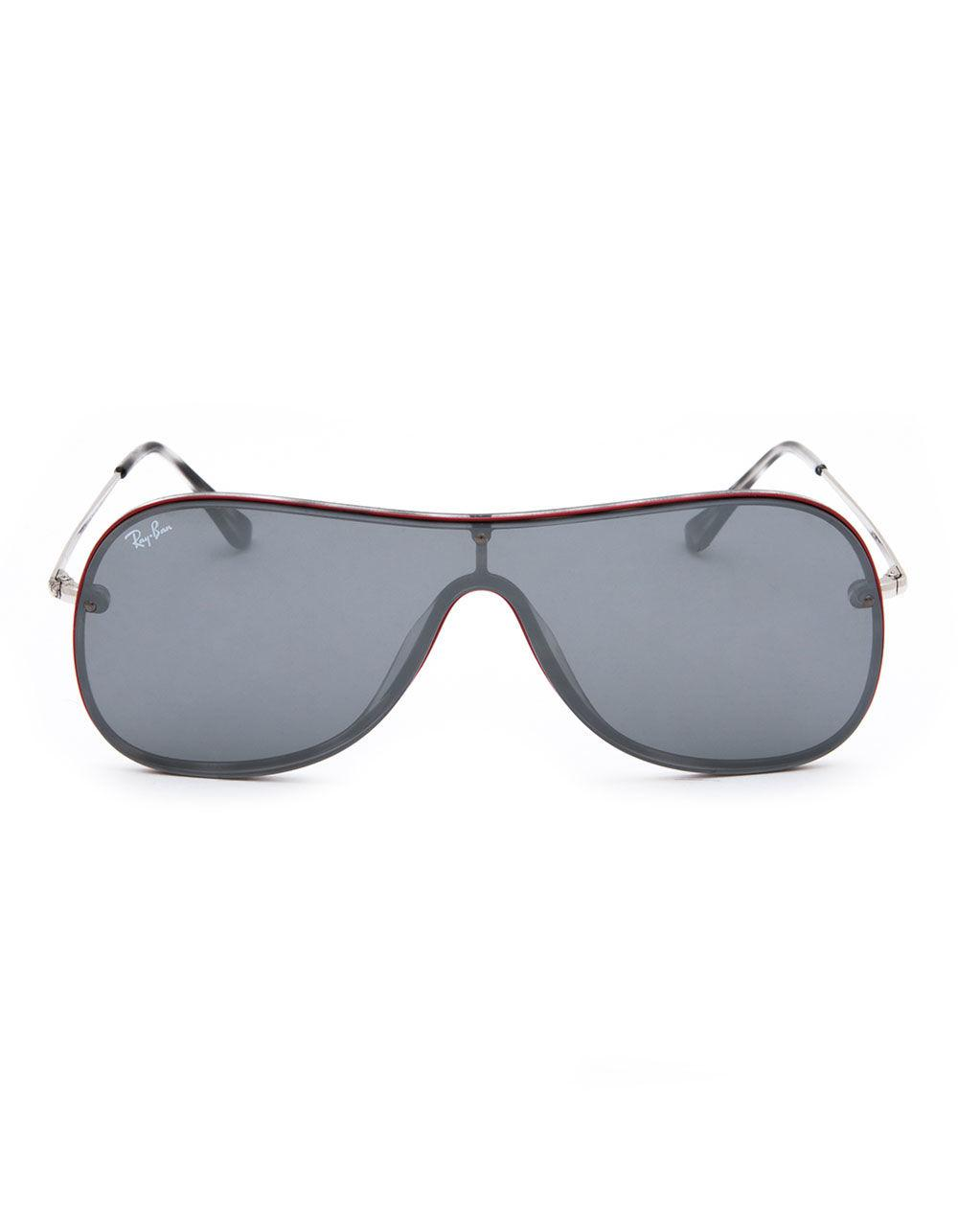 799ab43c8b Lyst - Ray-Ban Flat Lens Rb4311-n Sunglasses in Gray for Men