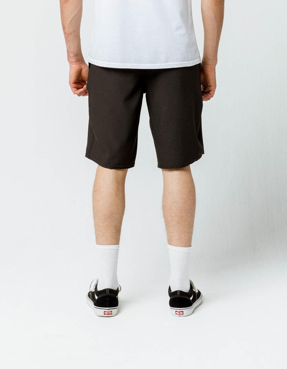 79bc17ded65f8 O'neill Sportswear - Reserve Heather Black Mens Hybrid Shorts for Men -  Lyst. View fullscreen