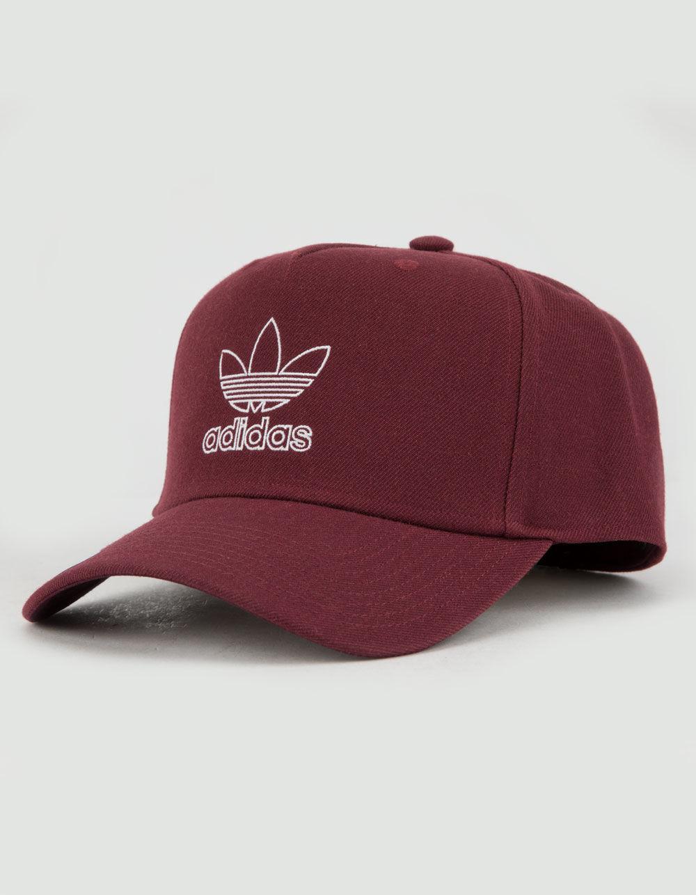 f2491cdf05d Adidas - Multicolor Originals Dart Precurve Burgundy Mens Snapback Hat for  Men - Lyst. View fullscreen