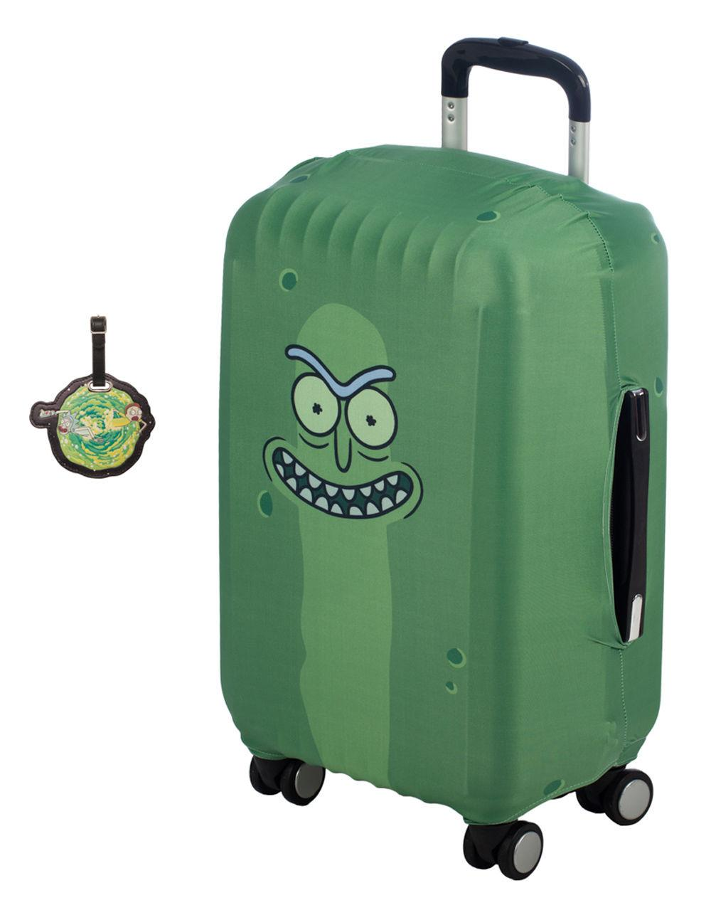 edb2e44788 Lyst - Bioworld Rick And Morty Luggage Tag   Sleeve Travel Pack in ...