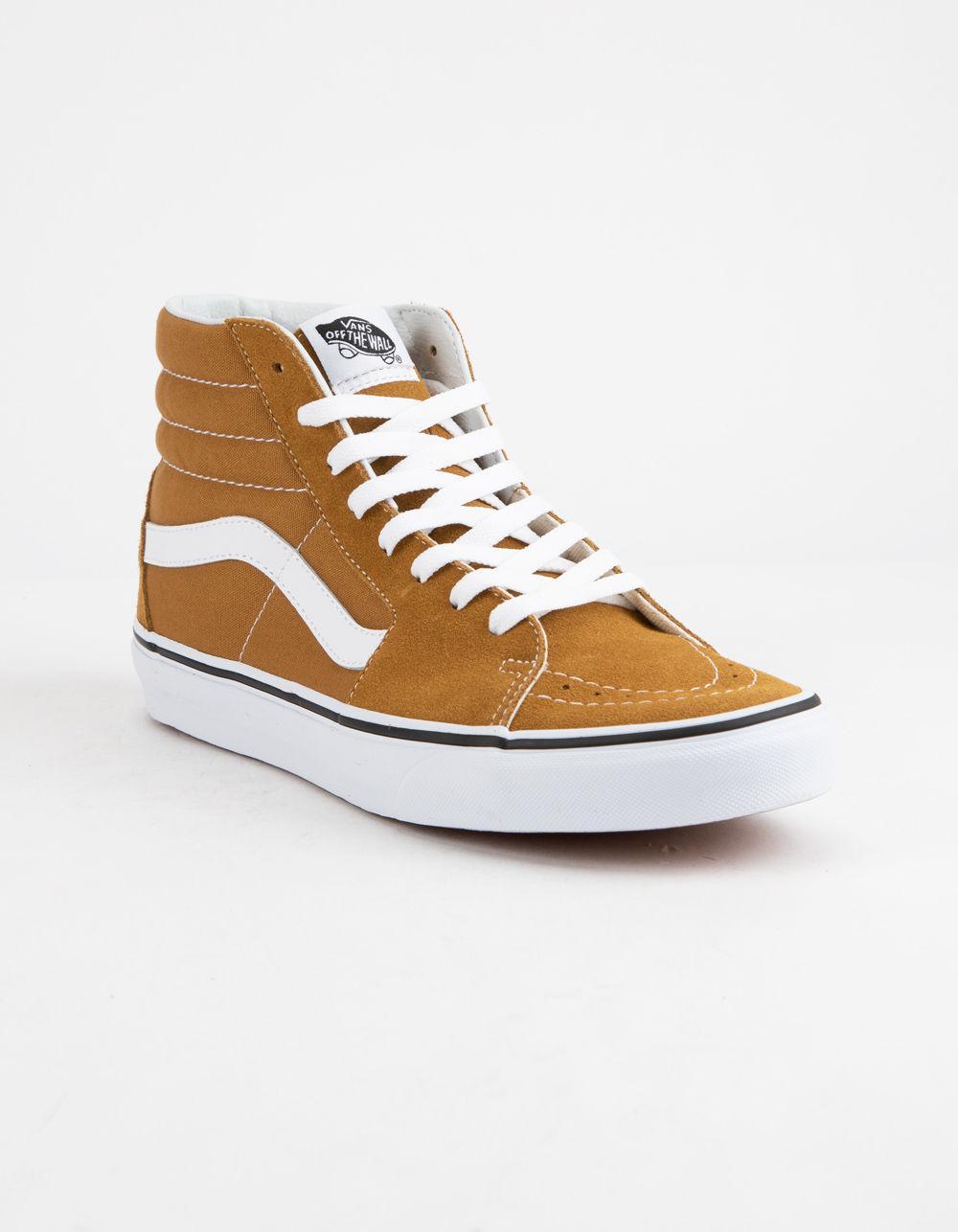 457aca88d5b Lyst - Vans Sk8-hi Cumin   True White Shoes in White for Men