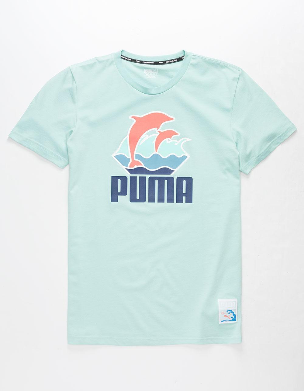 312f47b08017 Lyst - PUMA X Pink Dolphin Promo Mens T-shirt in Blue for Men