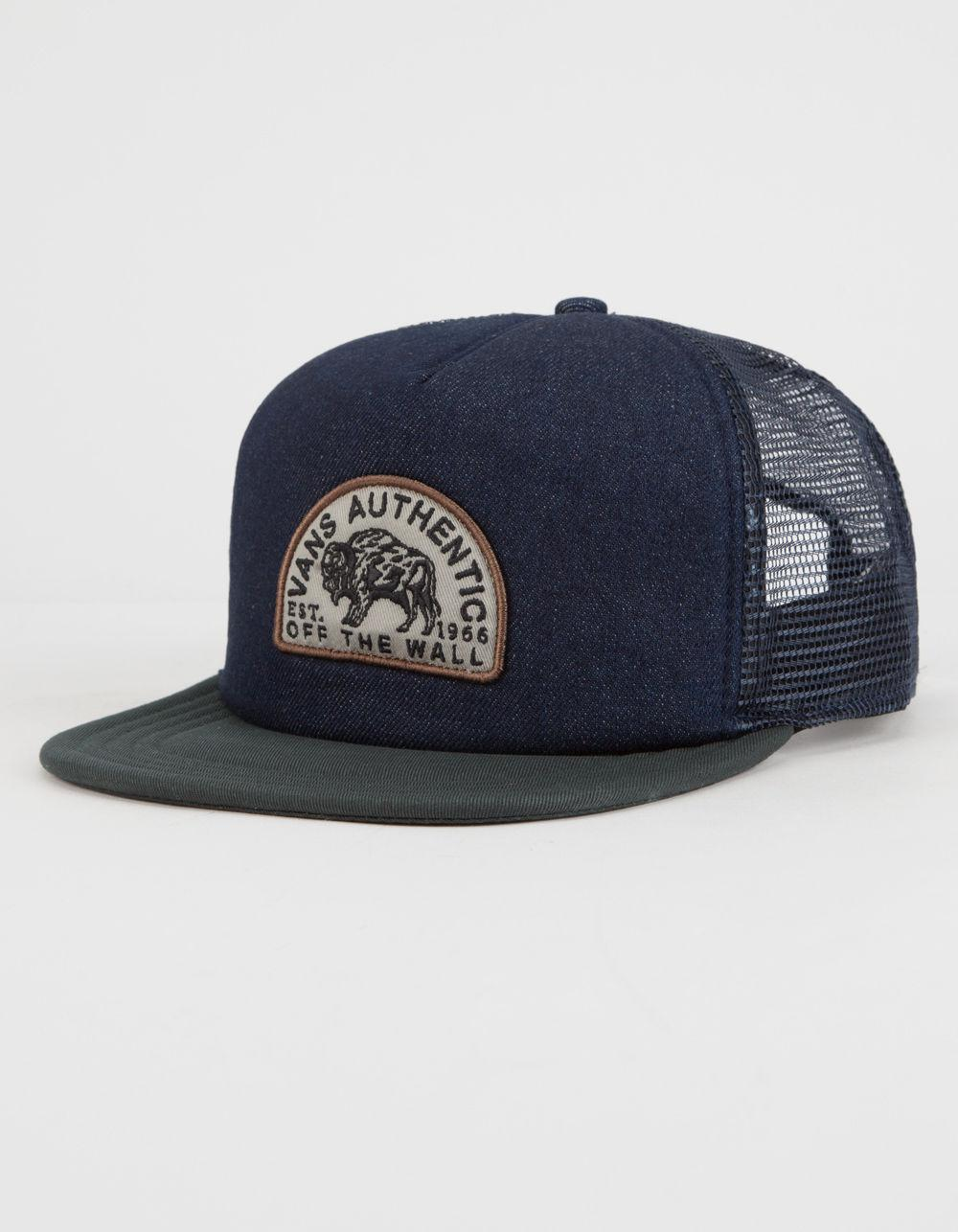 05b6272187 Vans Birch Mens Trucker Hat in Blue for Men