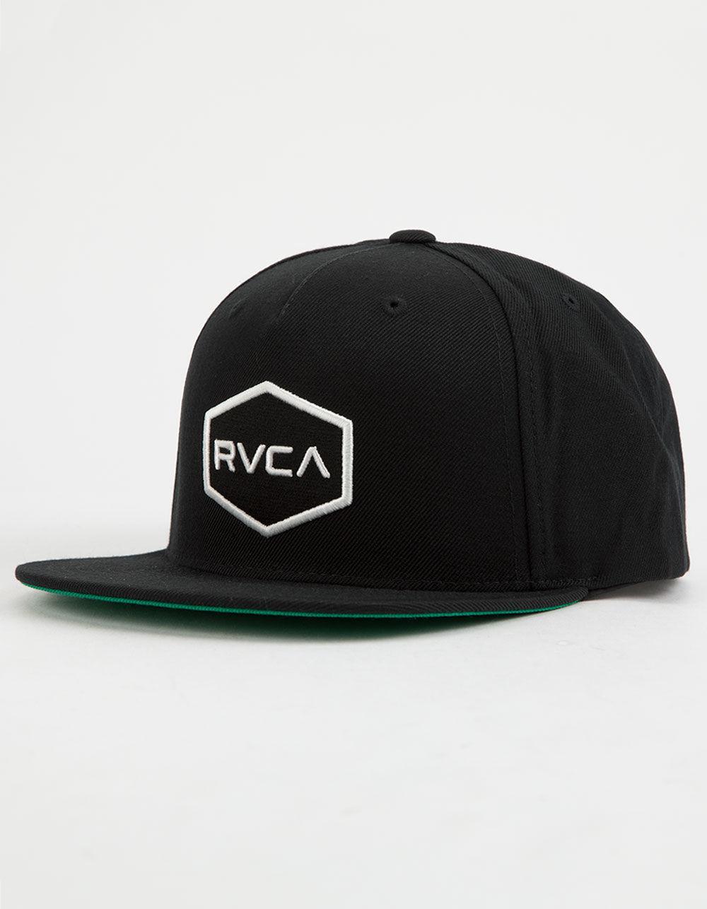new styles e0ab8 fb7e1 ... inexpensive rvca black commonwealth snapback ii hat for men lyst. view  fullscreen 739e2 9d482