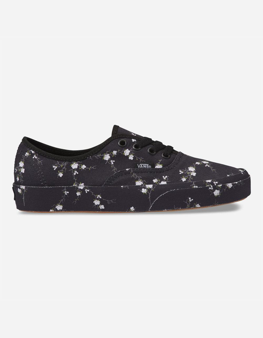 10a5489f94 Lyst - Vans Authentic Midnight Floral Womens Shoes