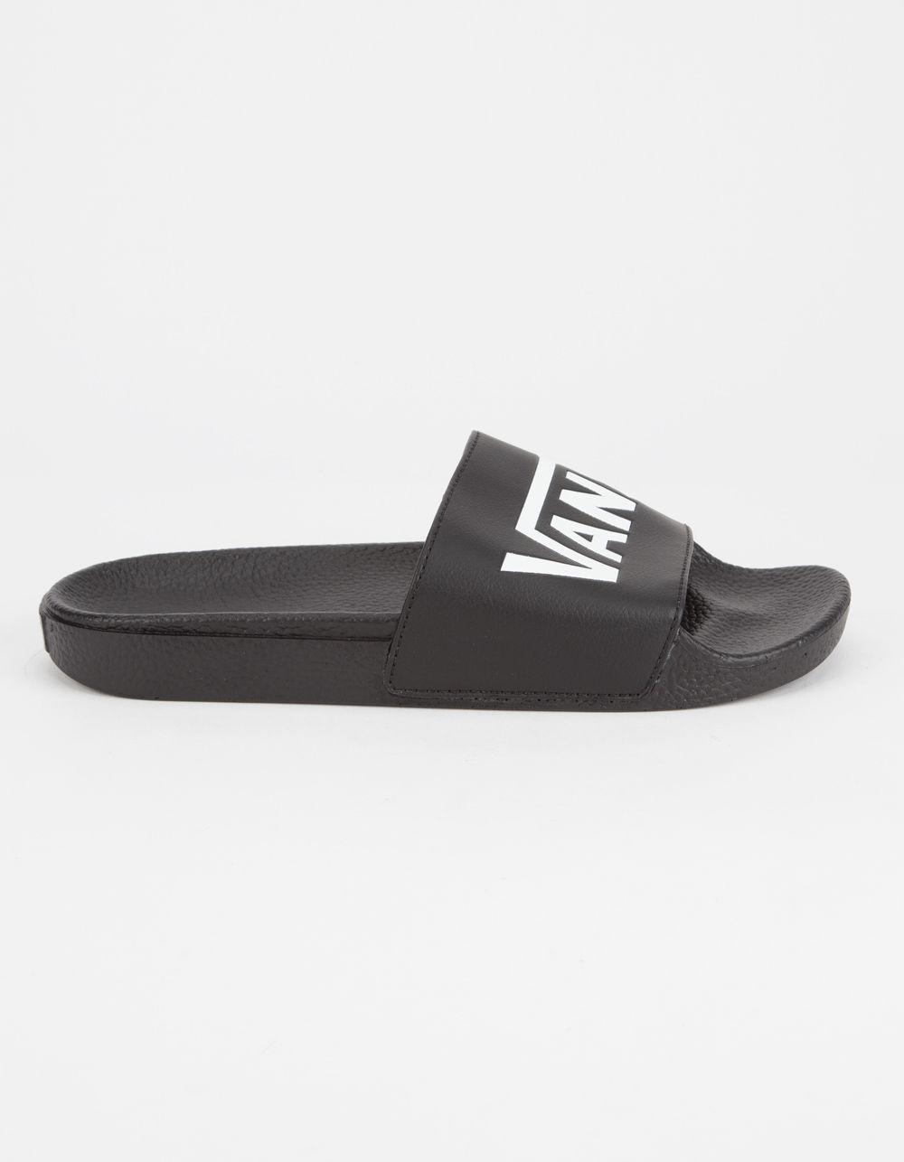 9a3370629a57e9 Lyst - Vans Slide-on in Black