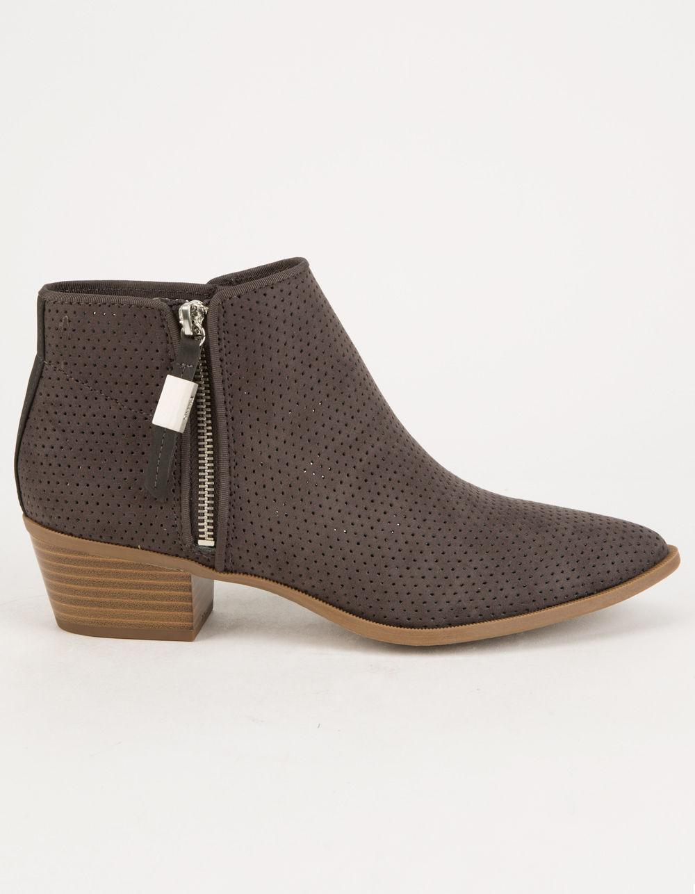 35708913f Lyst - Circus By Sam Edelman Hunter Womens Ankle Boots in Gray