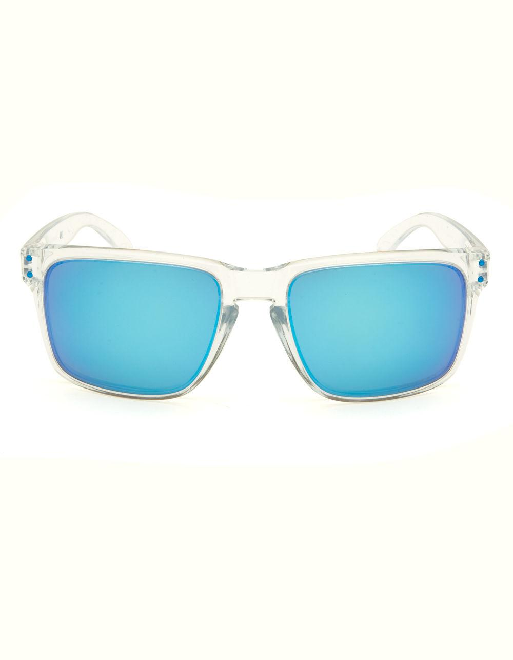 98b62d508f Lyst - Oakley Holbrook Xl Clear   Blue Sunglasses in Blue for Men
