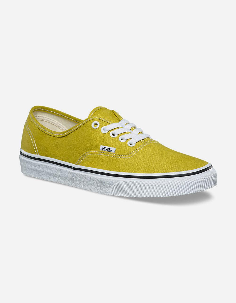 7eef0108668fc8 Lyst - Vans Authentic Cress Green   True White Mens Shoes for Men
