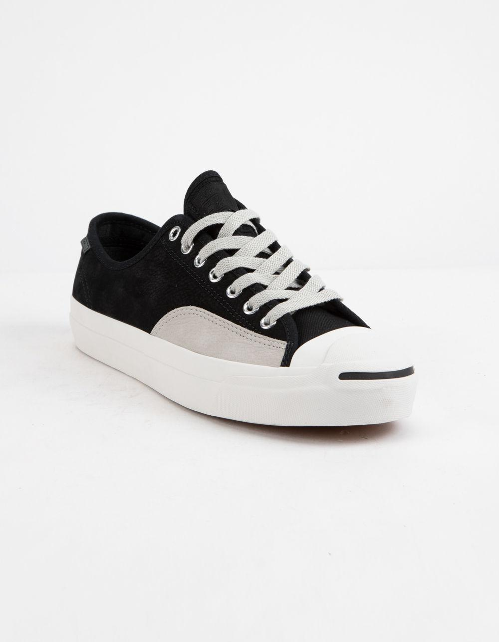 146e4376d167 Converse - Black Jack Purcell Pro Leather Low Top Shoes - Lyst. View  fullscreen