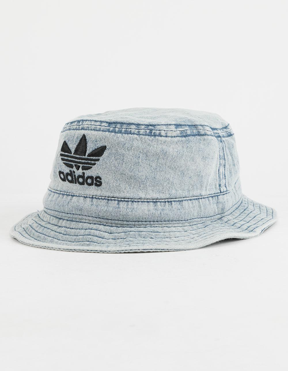fb022a6ba2fe ... wholesale lyst adidas originals denim bucket hat in blue for men 9e22f  d1a4b