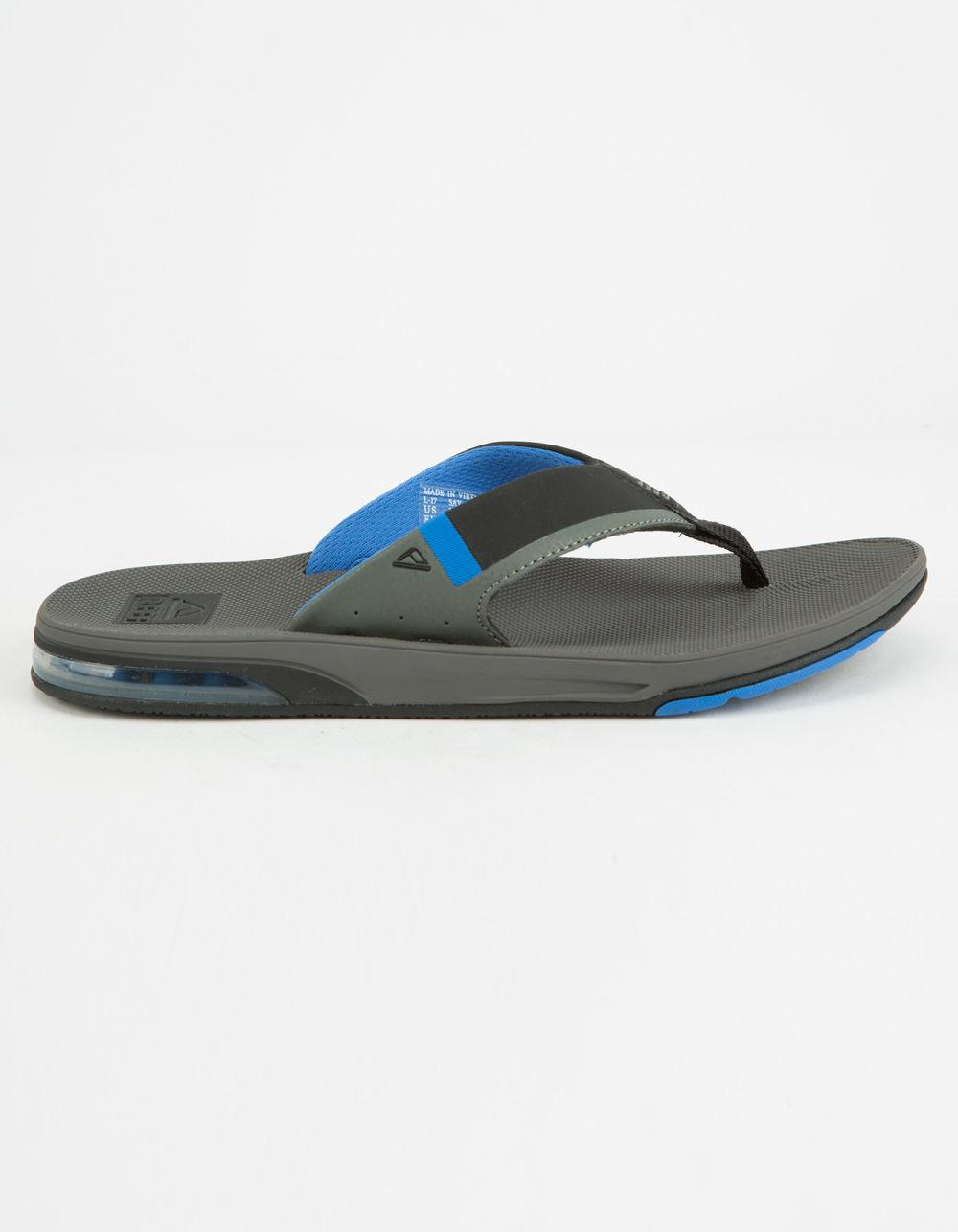 f4074553b72e Lyst - Reef Fanning Low Grey   Blue Mens Sandals in Gray for Men
