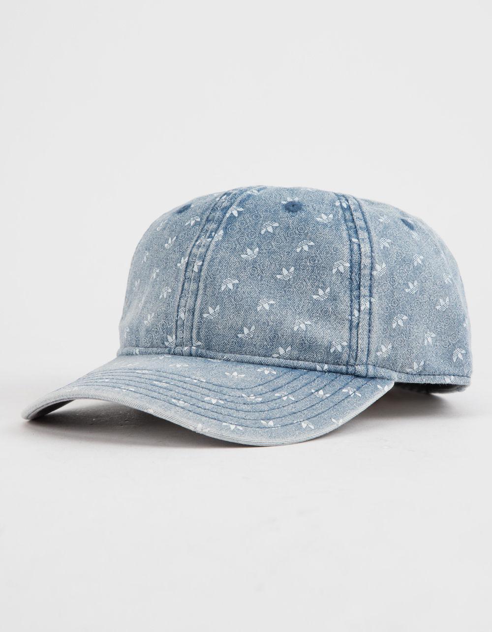 8528cb3725f Lyst - adidas Originals Monogram Denim Mens Strapback Hat in Blue ...