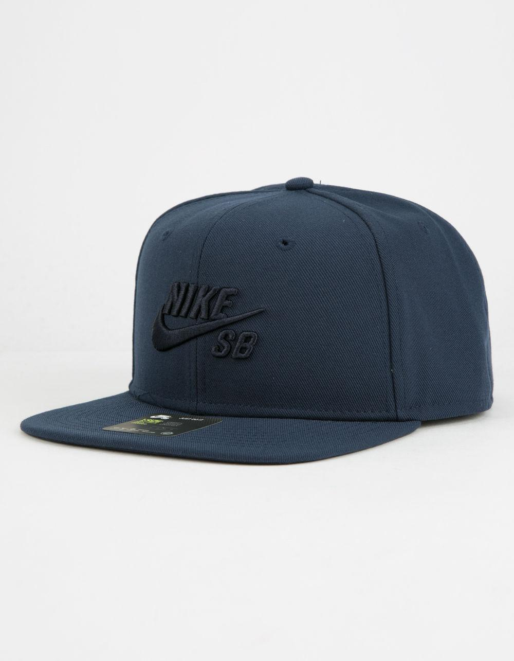 075633e2 Lyst - Nike Sb Icon Pro Mens Snapback Hat in Blue for Men