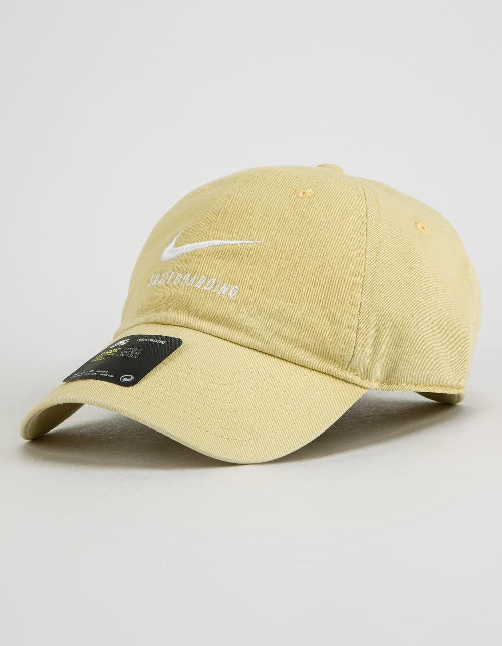 f8836a099b1 ... good lyst nike heritage lemon dad hat in yellow 351a4 13a02