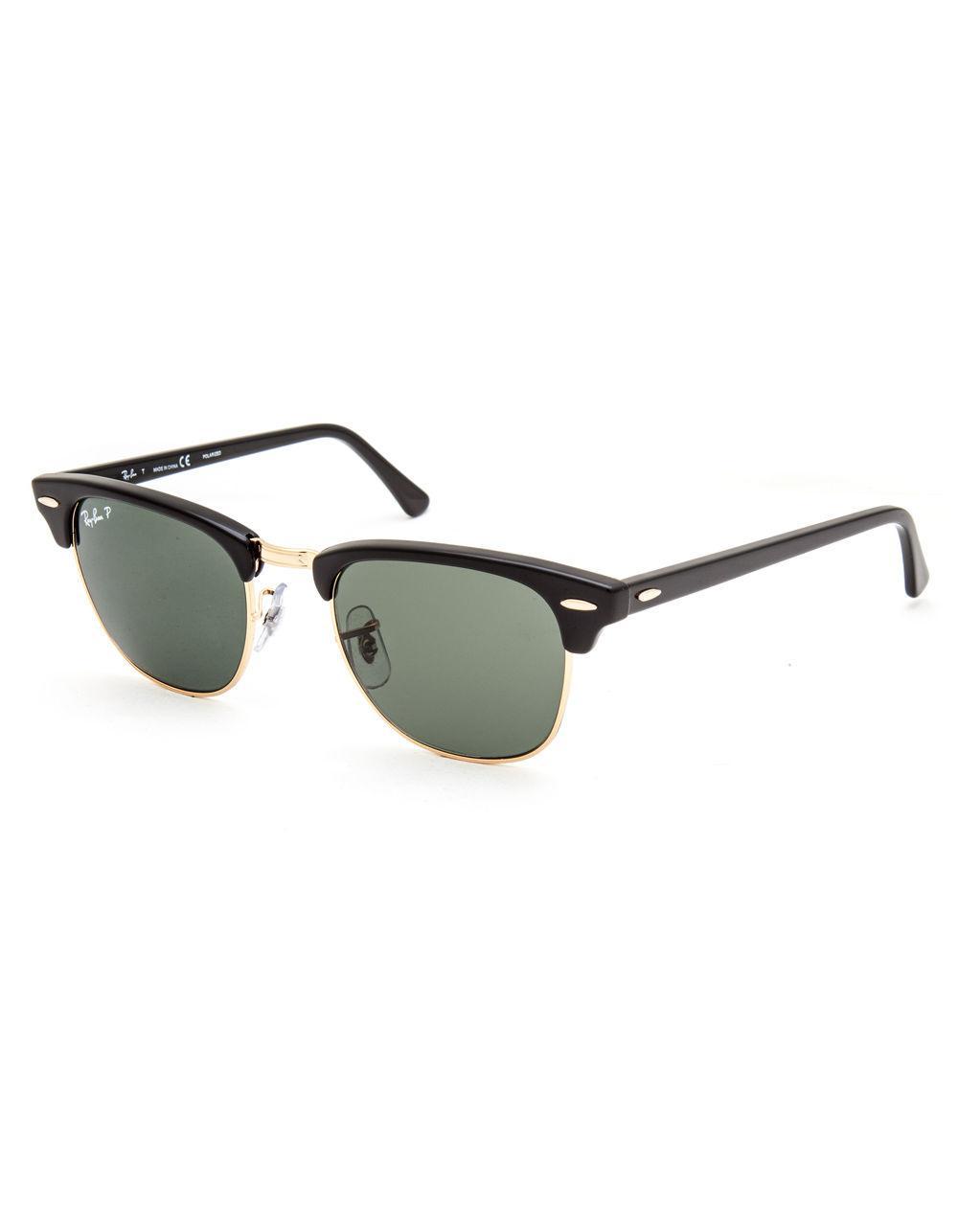 49fa027ec5 Lyst - Ray-Ban Clubmaster Classic Polarized Sunglasses in Black for Men