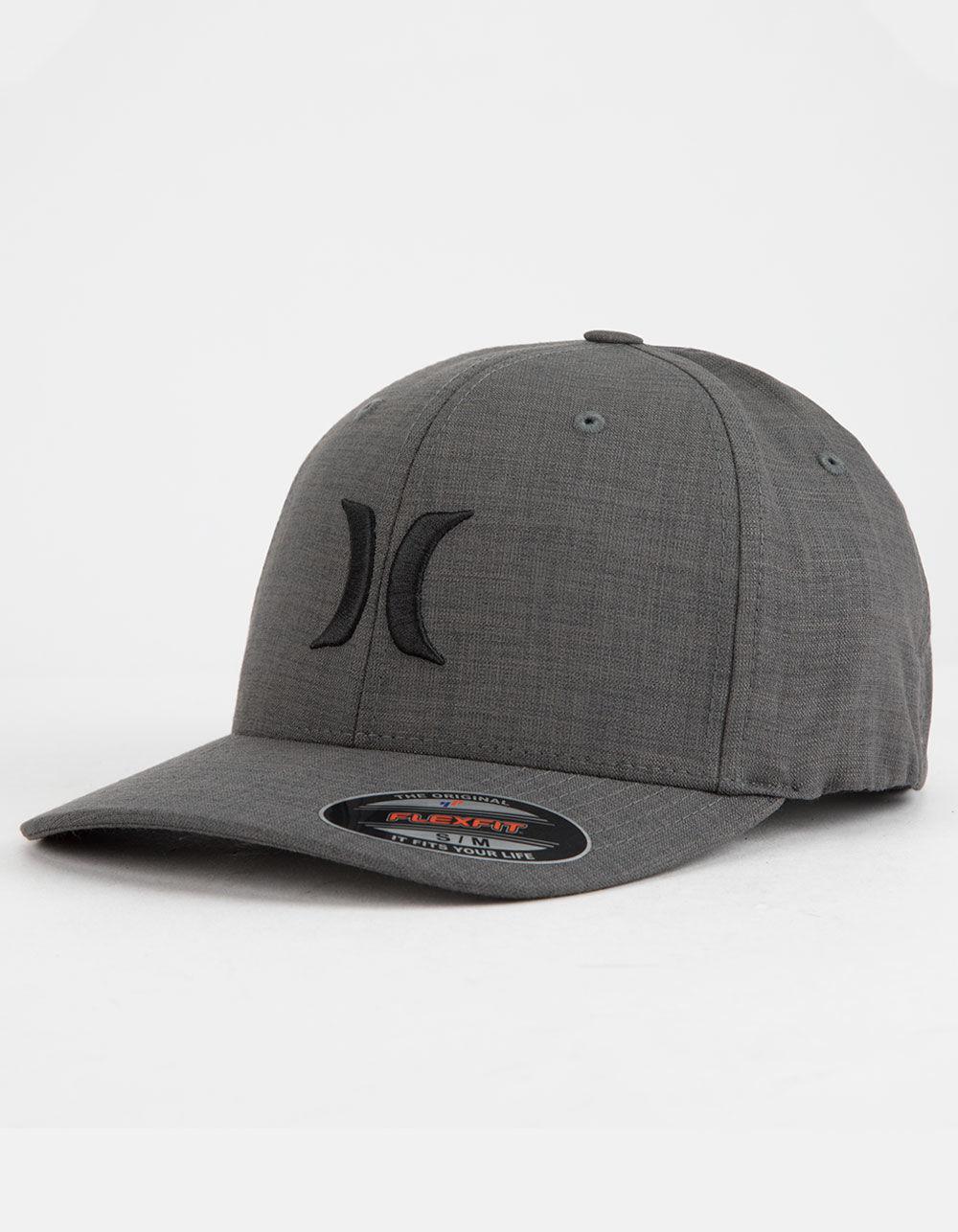 quality design 239cc 59916 Hurley. Textures Flex Fit Black Mens Hat
