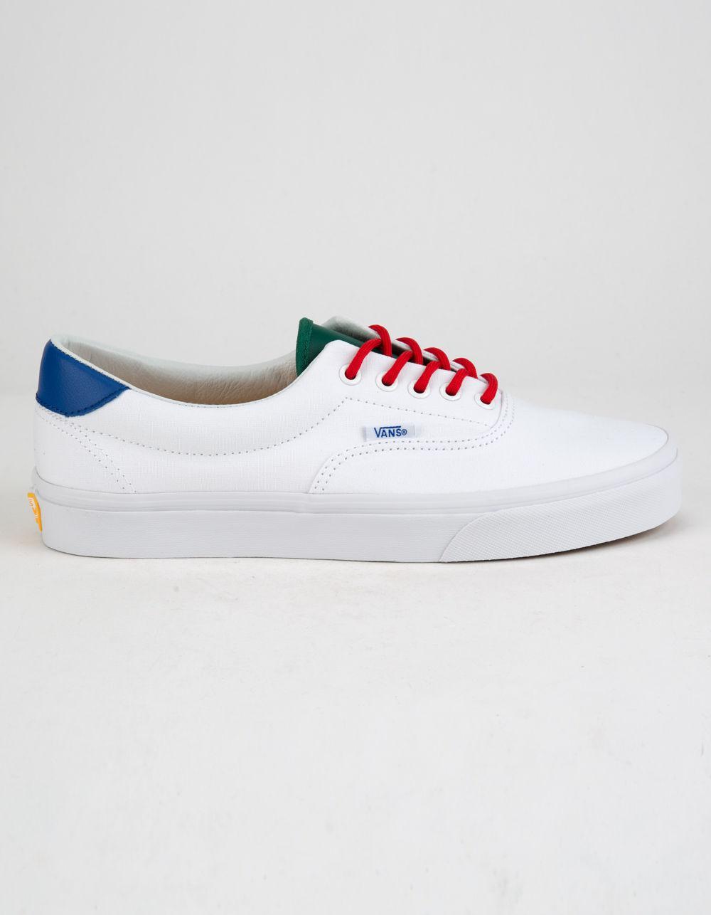 52d78de4866fee Lyst - Vans Yacht Club Era 59 True White Mens Shoes in White for Men
