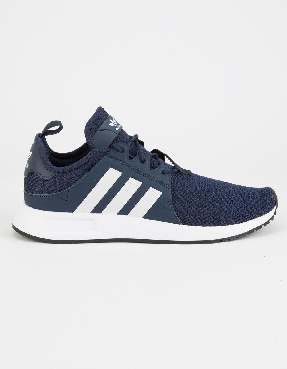 5b44e687981 Lyst - adidas X plr Navy   White Shoes in Blue for Men