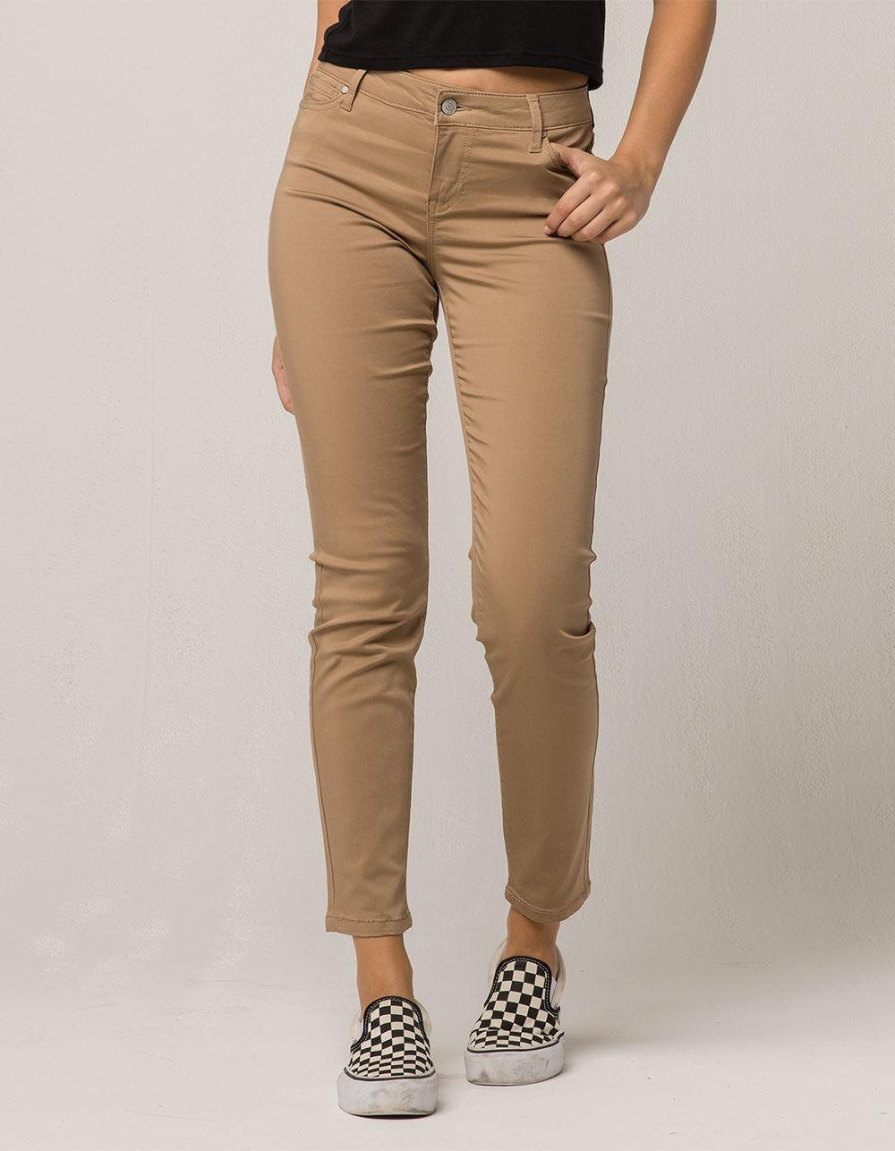 90b5317ace849 Gallery. Previously sold at  Tillys · Women s Pink Skinny Jeans ...