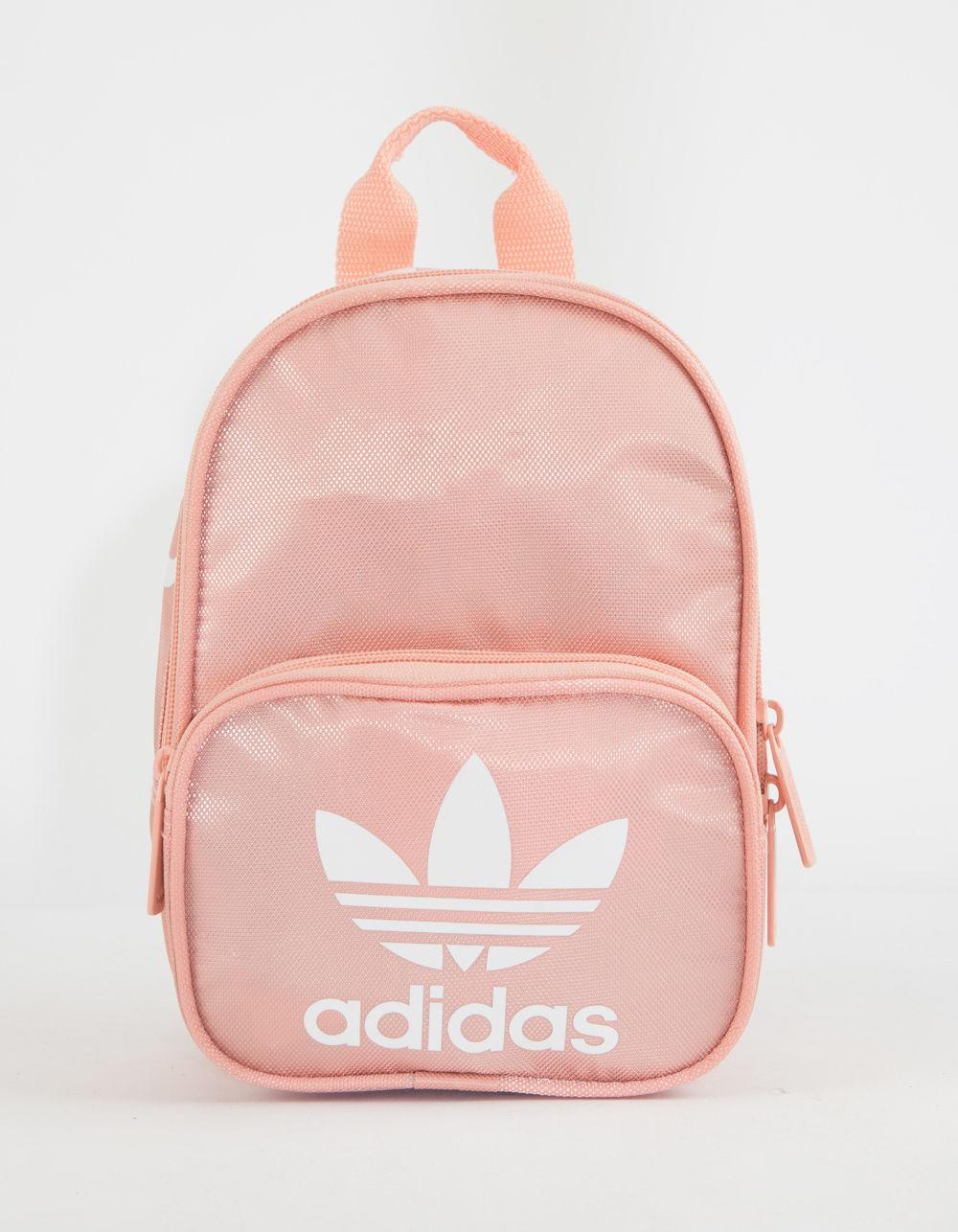 3d1baf8d74c Adidas - Originals Santiago Pink Mini Backpack - Lyst. View fullscreen