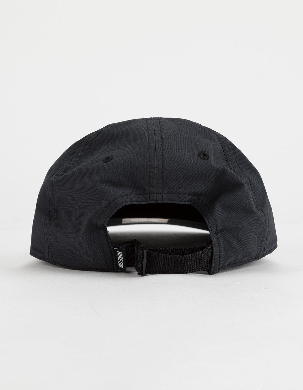 d709fcc0410d9 Nike Dri-fit Heritage 86 Flat Black Mens Strapback Hat in Black - Lyst