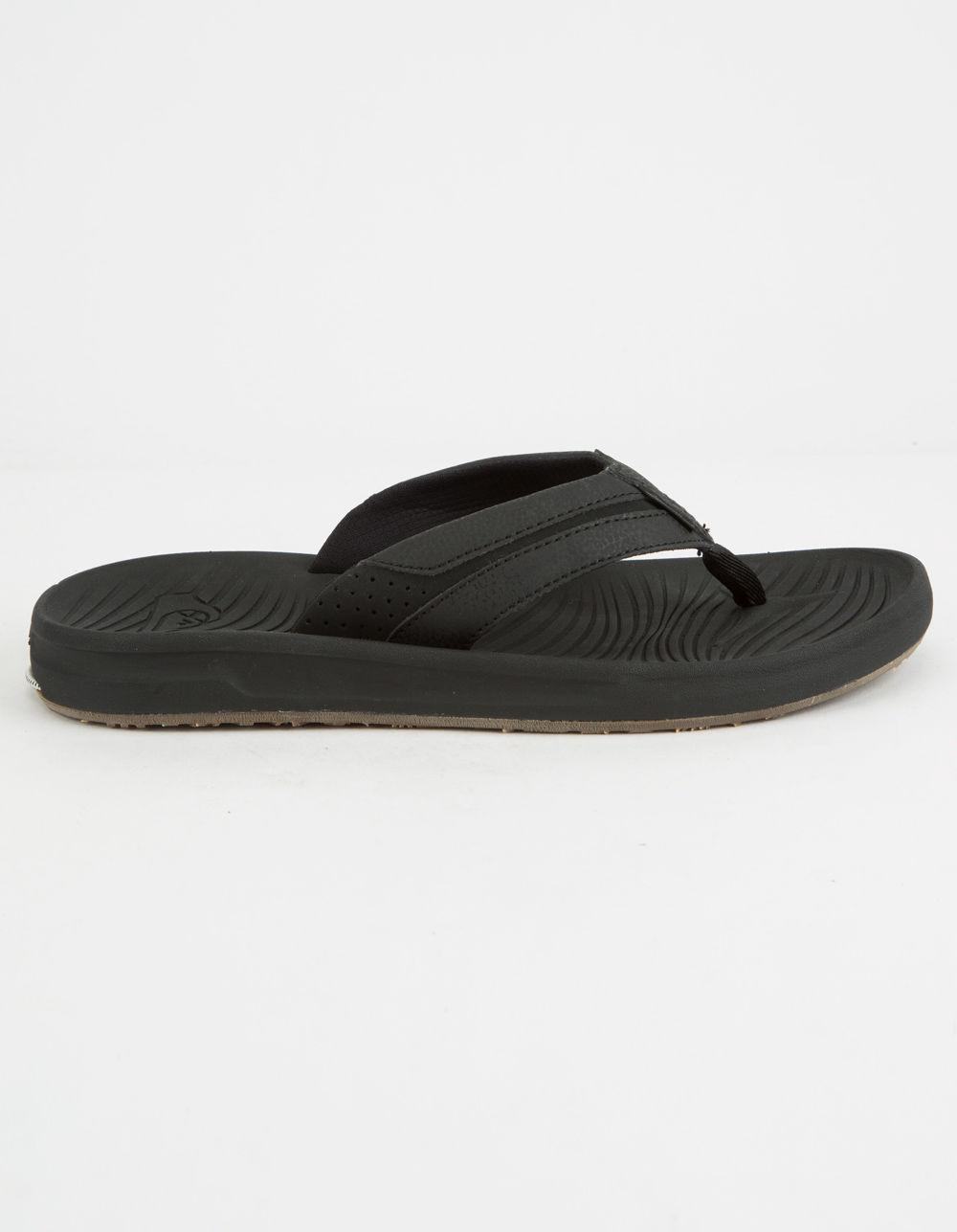 51c66482cdb492 Lyst - Quiksilver Travel Oasis Mens Sandals in Black for Men