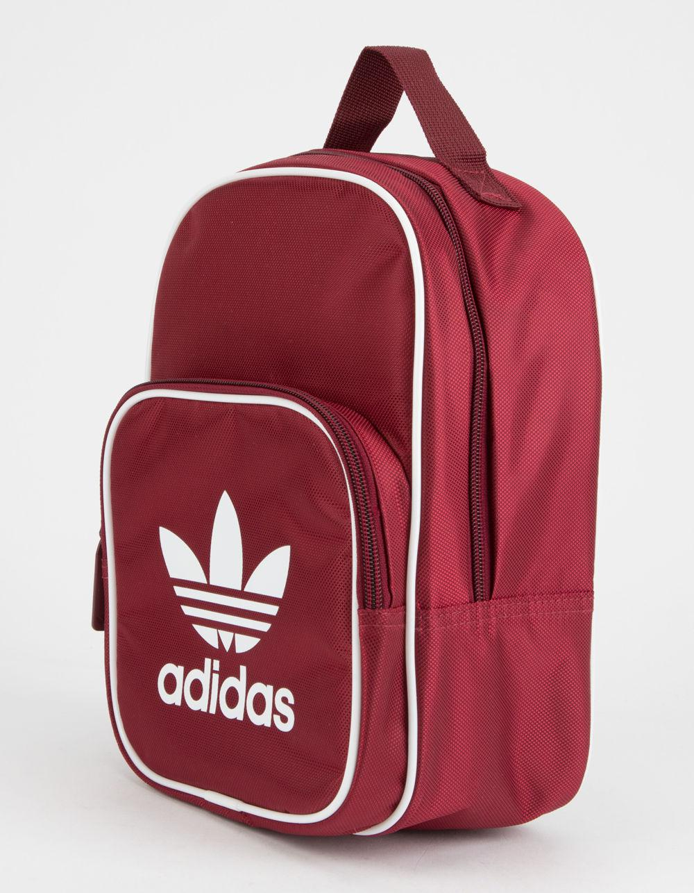 821c7e87a524 Lyst - adidas Originals Santiago Burgundy Lunch Bag in Red - Save 70%