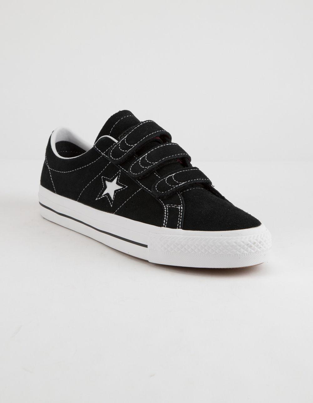 0873d49ee194 Converse - One Star Pro 3v Ox Black   White Shoes for Men - Lyst. View  fullscreen