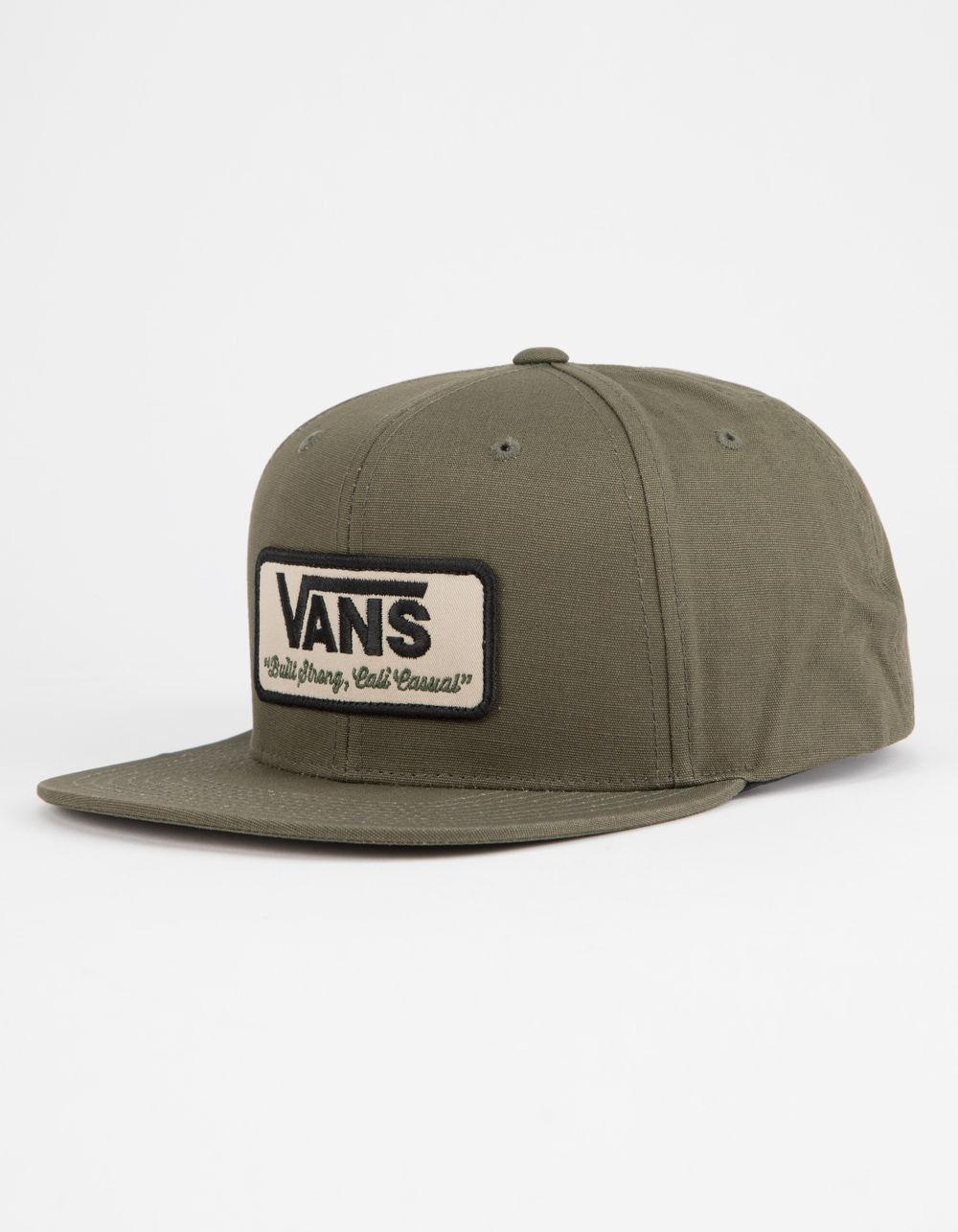 86519d50 Vans Rowley Grape Leaf Mens Snapback Hat in Green for Men - Lyst