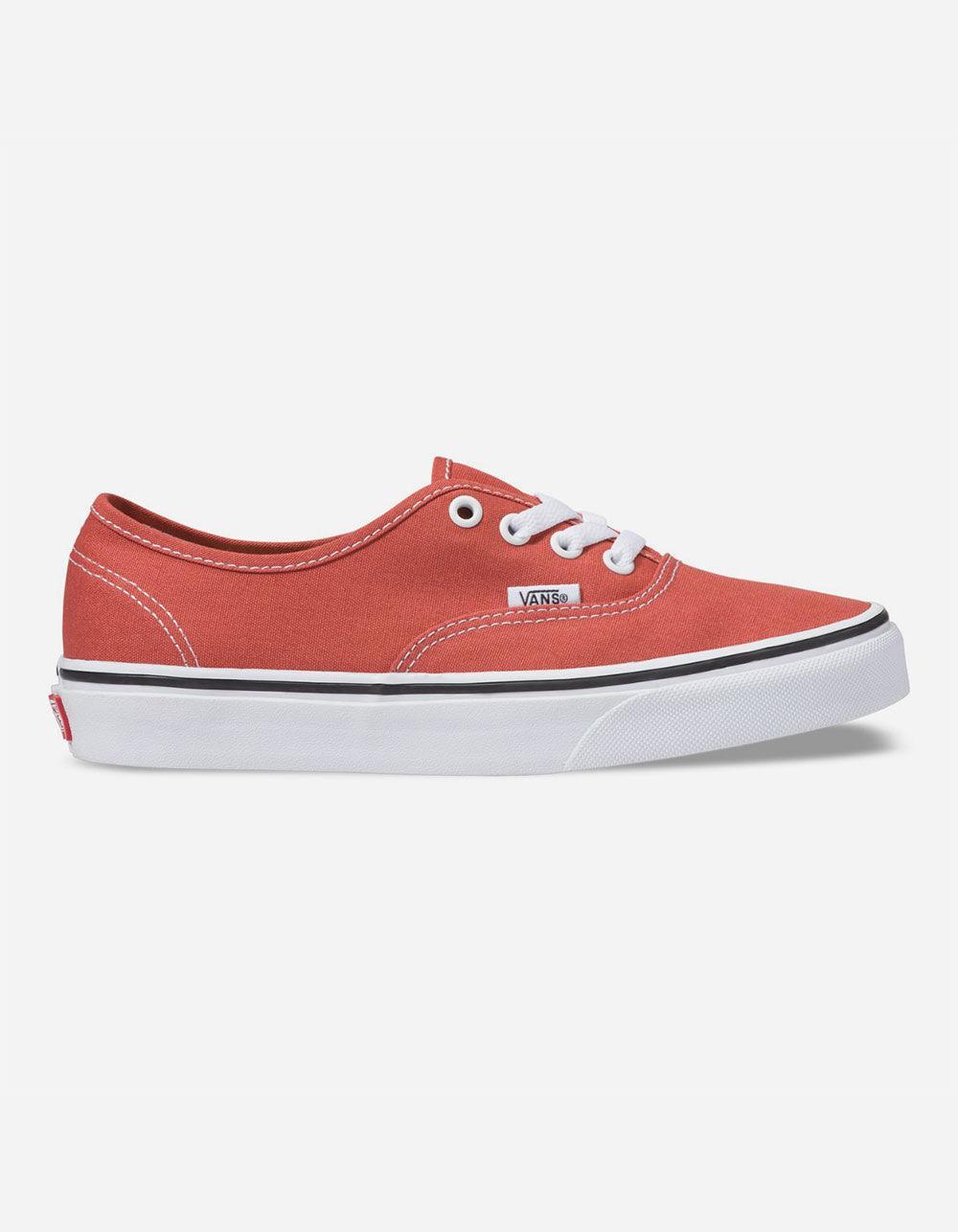 99b064f0fd6c99 Lyst - Vans Authentic Hot Sauce   True White Womens Shoes