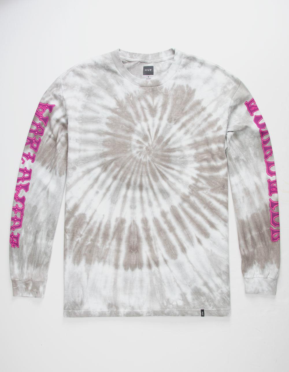 a8a4bb60 Lyst - Huf Freak Street Gray Tie Dye Mens T-shirt in Gray for Men
