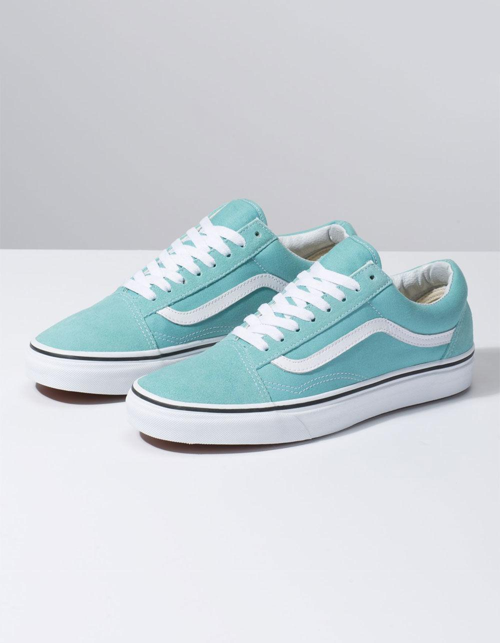 5c8ad342711940 Lyst - Vans Old Skool Aqua Haze   True White Shoes