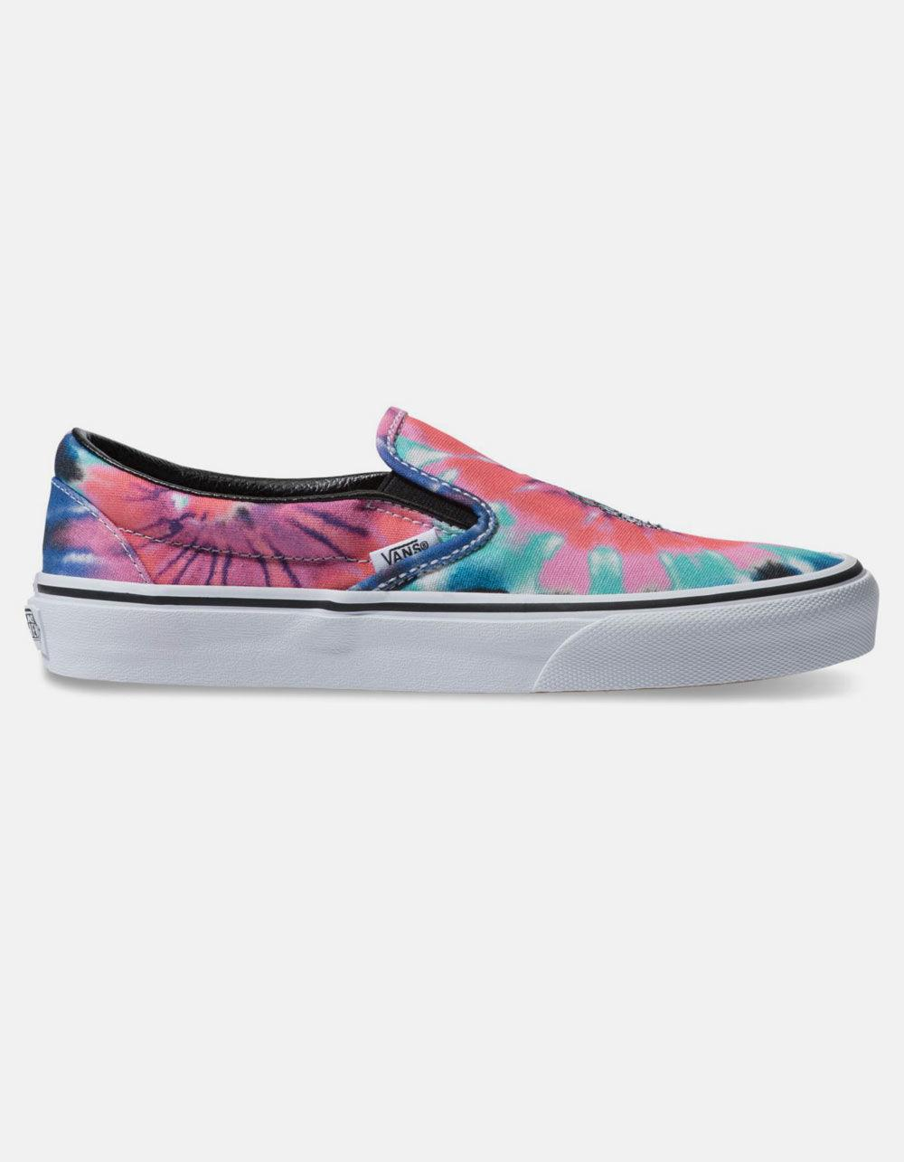 667c5da6859 Lyst - Vans Tie Dye Classic Slip-on Womens Shoes