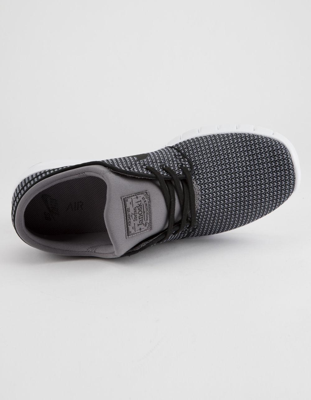 3eab597b1e Nike - Gray Stefan Janoski Max Gunsmoke White   Black Shoes for Men - Lyst.  View fullscreen
