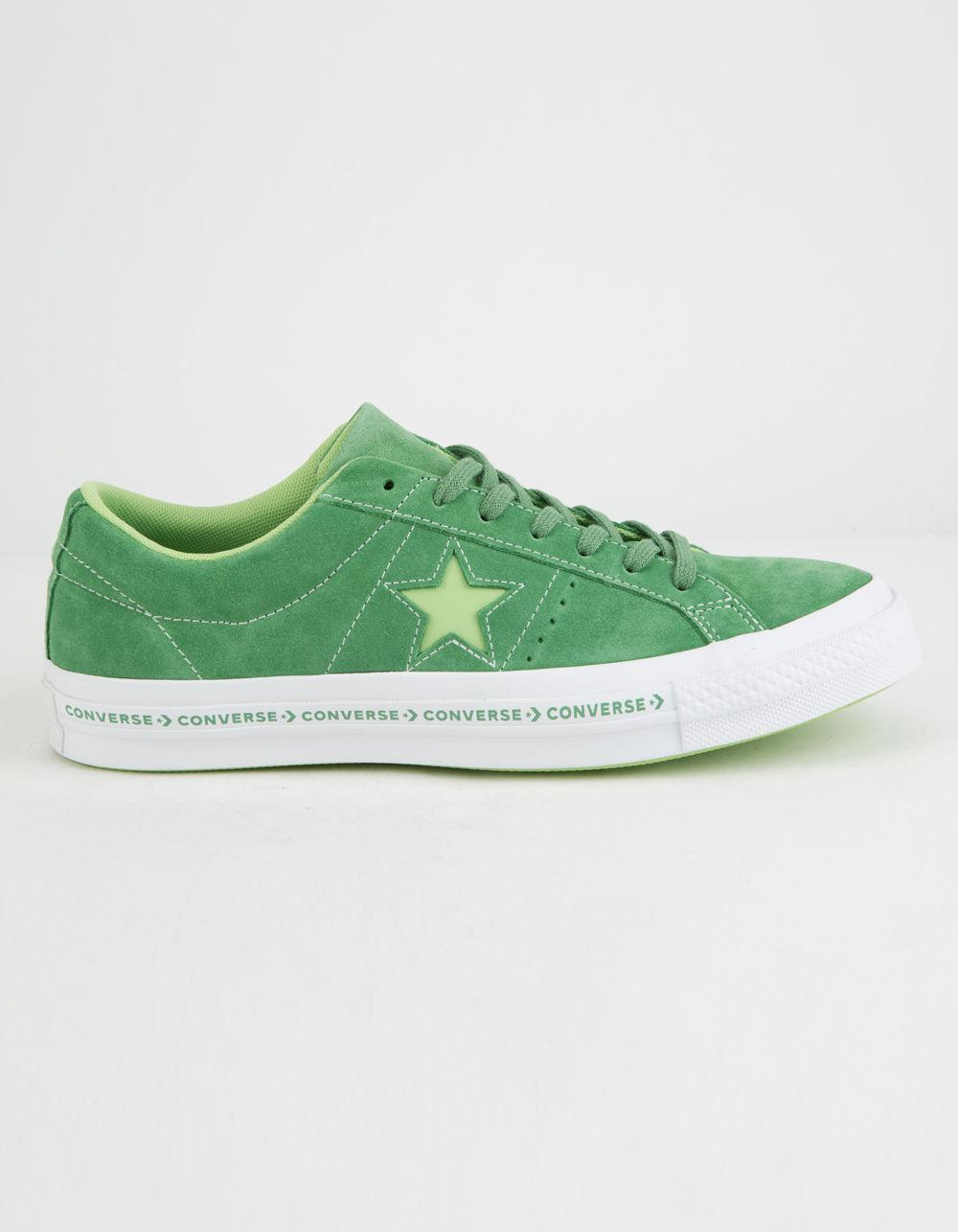 f5a8733519b ... sneakers 6dd9f 771df  italy lyst converse one star pinstripe mint green  jade lime white a517d 9ff9d