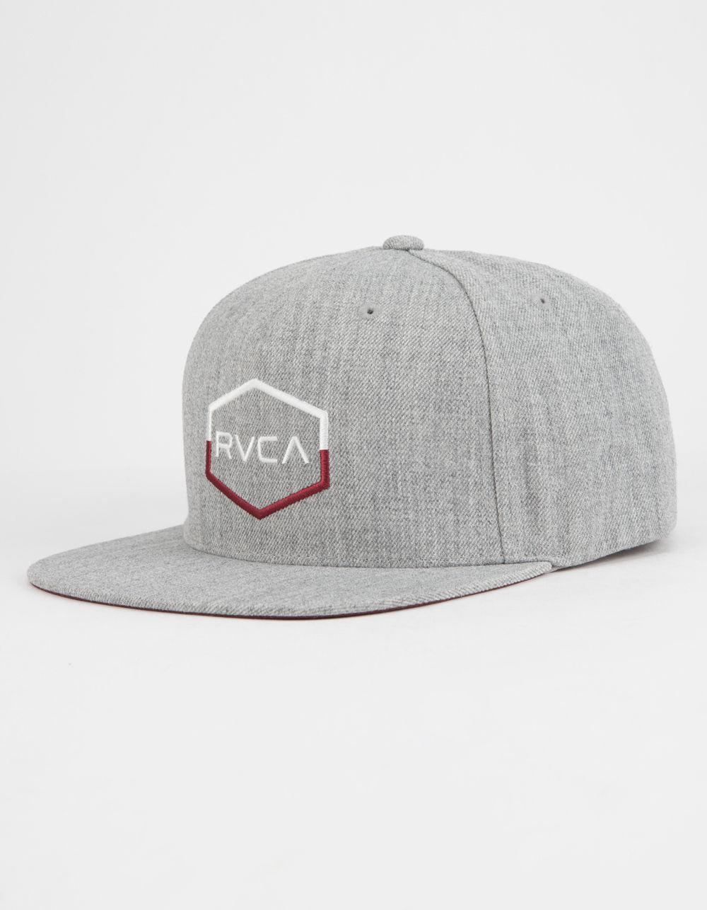 3ec2a3da Lyst - RVCA Commonwealth Iii Mens Snapback Hat in Gray for Men