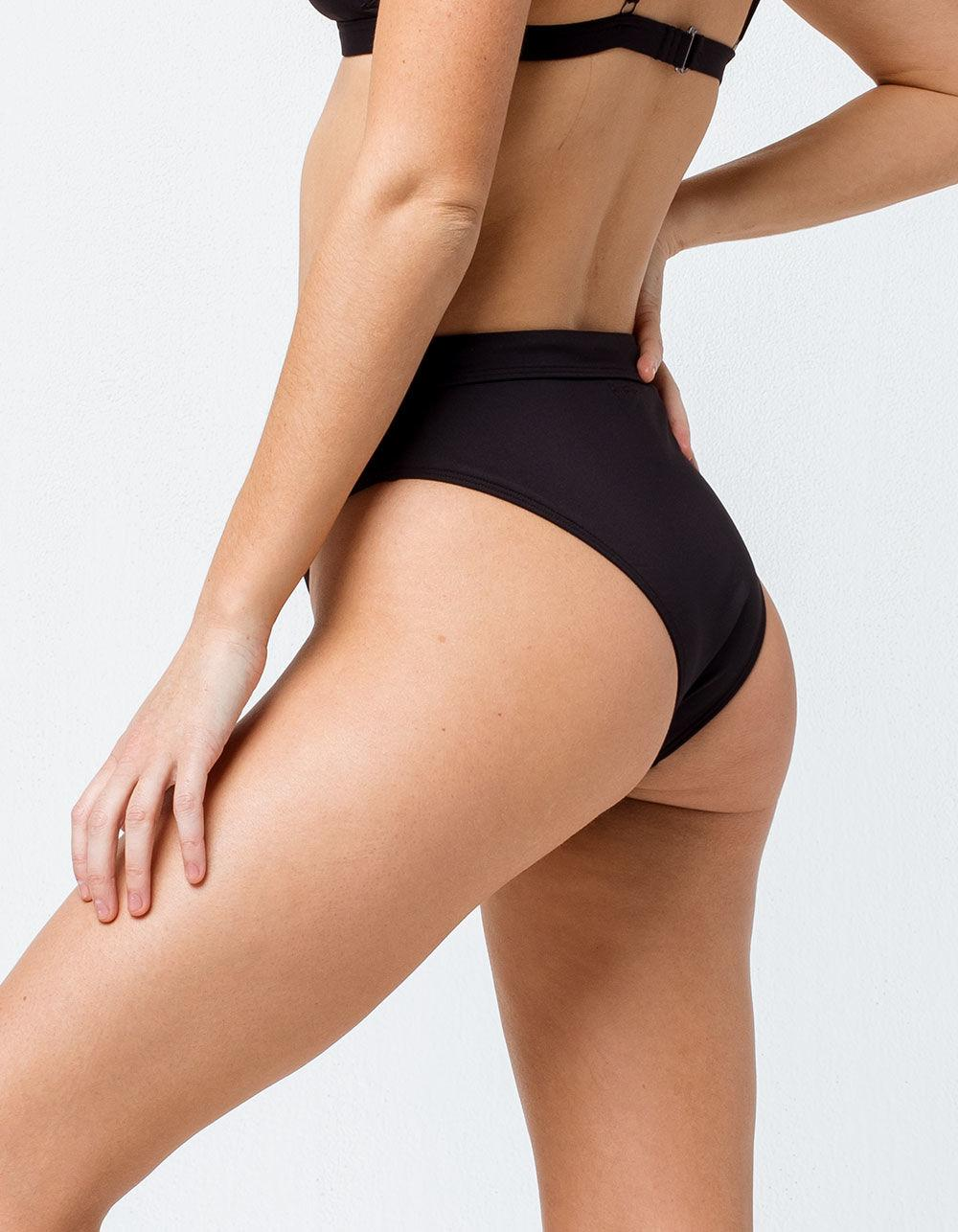 e4add647d7c18 Billabong - Black Sol Searcher Rise High Waisted Bikini Bottoms - Lyst.  View fullscreen