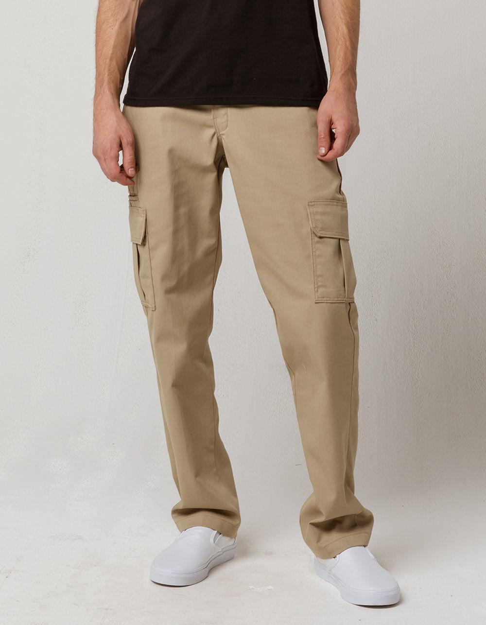 a0adcb6b Dickies Flex Slim Fit Straight Leg Desert Sand Mens Cargo Pants in ...
