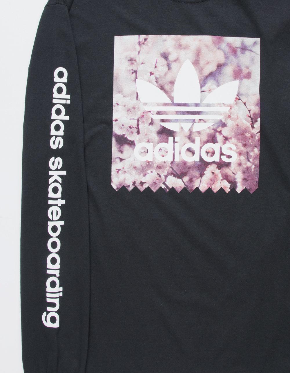 size 40 7ef43 b61d8 Lyst - adidas Cherry Blossom Blackbird Mens T-shirt in Black for Men