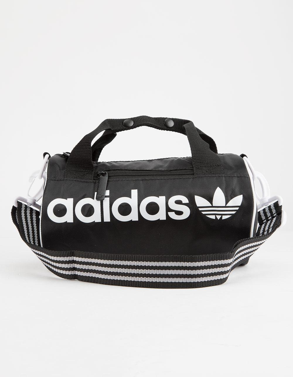 ... online retailer b76c6 70997 Adidas - Black Originals Santiago Mini  Duffel Bag for Men - Lyst ... d291201655f2c